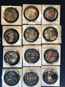 Bradford Exchange - Russian Legends Limited Edition Plates Set Of 12