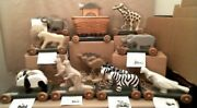 Workshops Of Gerald Henn Usa Made Rare Complete Noahs Ark Set With Coa's And Boxes