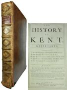 The History Of Kent By John Harris 1719 First Edition 43 Fine Engraved Plates