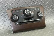 13-14 300 Woodgrain Electronic Heat Ac Climate Control Dual Zone Assembly Oem