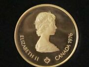 1976 Montreal Xxi Olympiad 100 Commemorative 22k.gold Coin 15.5517 Gr.pure Gold