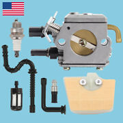 Carburetor For Stihl 034 036 Ms340 Ms360 Chainsaw Zama C3a-s31a Carb Air Filter