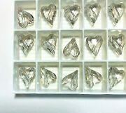 Vintage ® Wild Heart Beads 5743 - 12mm - Crystal Silver Shade- 108 Pcs