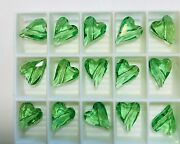 Vintage ® Wild Heart Crystal Beads 5743 - 12mm - Peridot - 108 Pieces