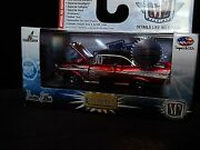 M2 1957 57 Chevy Bel Air Super Chase Candy Apple Red 1 Of Only 108 1/64 Diecast