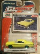 Greenlight 1969 69 Dodge Charger Green Machine Chase 1/64 Dirty Larry Crazy Mary