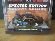 M2 Machines 1969 69 Chevy Camaro Flames Super Chase 1/64 Diecast 1 Of 480 Pcs