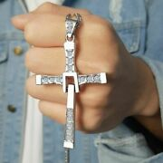 The Fast And The Furious Dominic Toretto Cross Pendant Necklace For Men Jewelry