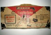 Arrow Andreg T-50 T50 Automatic Staple Gun Kit - Antique - With Box And Parts List