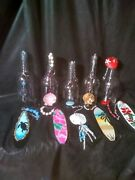 Liquor And Wine Bottle Wind Chimes. 30.00 Each.