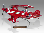 Pitts S-2b Special Scarlet Rose Solid Mahogany Wood Handcrafted Display Model