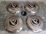 Set 4 79-85 Cadillac Lincoln Buick Wire Faux Wheel Center Caps 00250 00230
