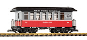 Piko G Scale 38650 New York Central Nyc Wood Coach 286 G-scale