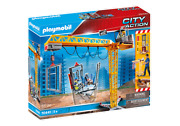 Playmobil 70441 City Action Rc Crane With Building Section Mib/new