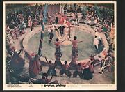 Doctor Dolittle Lobby Card 2-1969-rex Harrison Performing In A Circus