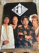 The Firm - 1985 Atlantic Records Promotional Poster / Jimmy Page / Paul Rodgers