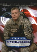 2008 Topps Military Salute Armed Forces Fans Of Game Sen. Airman Gabriel Bird