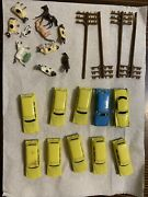 Vintage N Scale Animals And Automobiles Lot