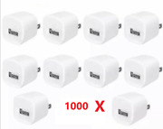 1000 X White Usb Wall Charger Ac Power Adapter For Iphone 4 5 6 7 8 + Us