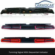 New Led Tail Light Lamp Fits For 08-2014 Dodge Challenger Sequential Indicator