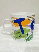 Texas Starbucks Coffee Mug Cup State Of Beans Collection1997 20 Oz