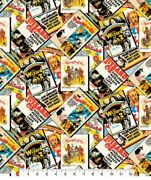 1 Yard Of The Wizard Of Oz Movie Posters 100 Cotton Fabricandnbsp