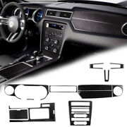 Central Dashboard Frame And Gear Shift Panel Trim Cover Kit For Ford Mustang 09-13