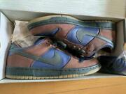 Nike Dunk Low Pro Sb Barf 304292-431 Navy/outdoor Green-lt Size Us 9.5 Ds
