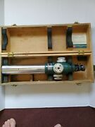 Keuffel Esser Alignment Telescope 71-2022 Lenses And Spare Lamps Not Included