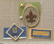 Boy And Cub Scout Rank Badge Patches And Pin Bsa Uniform Badge Arrow Of Light Bobcat