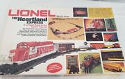 Lionel 6-1764 Heartland Express Set 1977 No Track/switches Extra 2 Cars