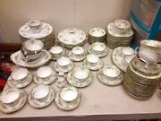 1933 Noritake -m-dinner Set Made In Japan China Setandnbspgreat Cond- 101 Pieces