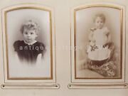 1800s Antique Photo Album Switzerland Winterthur And St Gallen Well-to-do Family