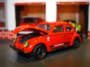 1953 53 Vw Beetle Bug Limited Edition Volkswagen 1/64 Deluxe M2 Race Car