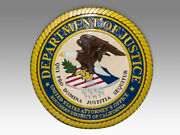 United States Attorneys Office Southern District Of California Plaque Emblem