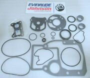 D1a Evinrude Johnson Omc 987603 Gear Housing Seal Kit Oem New Factory Boat Parts