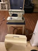 Rare Vintage Singer Heavy Duty Sewing Machine Model 242 Foot Pedal Tested Brazil