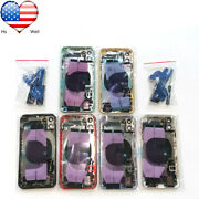 Oem Iphone 11 Back Housing Glass Battery Rear Full Cover Door Frame Small Parts
