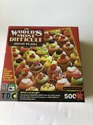 Tdc The World's Most Difficult Jigsaw Puzzle Killer Cupcakes 500 Pieces, 12+