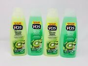 4 Vo5 Kiwi Lime Squeeze Clarifying Shampoo And Conditioner With Lemongrass 15oz Ea