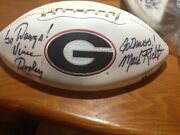 Every Uga Coach Including Dooley Goff Donnan Richt And Smart Signed This Ball