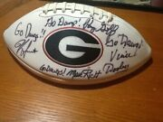 All Uga Head Coaches Since Dooley Goff Donnan Richt And Smart Signed This Ball