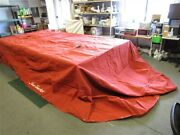 Tracker Party Barge 22 2008-2009 Double Canopy Cover 133 X 286 Marine Boat