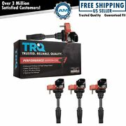 Premium High Performance Engine Ignition Coil Kit Of 4 For Gm New