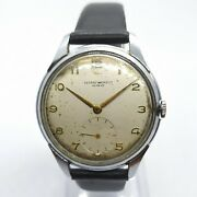 Vintage Record Watch Co Geneve Cal. 022-18 Swiss Made 17 Jewels Rare Wristwatch