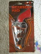 Collect. Rare Nevada Kid Toy Cap Gun Red Handle New In Orig. Packaging Italy