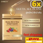 6x Gluta All In One New With Berry And Grape Seed Extract Skin Whitening