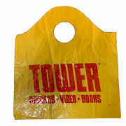 1 Tower Shopping Bag Collectible Records Vintage 14and039and039 X 12and039and039 45s Iconic Bag Rare