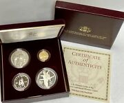 1995 U.s. Olympic Coins Of The Atlanta Centennial Olympic Games Set Of Four