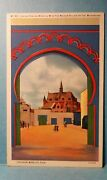 Vintage Post Card From Century Of Progress Chicago 1933 Morocco Exhibit